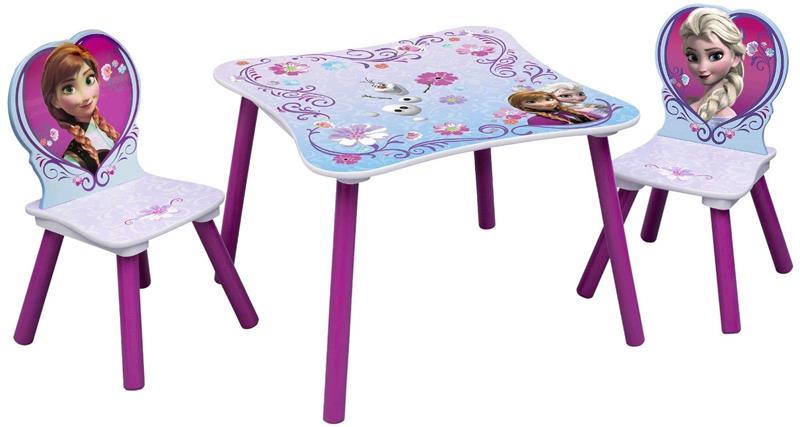 Disney frozen tavolo e 2 sedie in legno ebay - Tavolo con sedie frozen ...