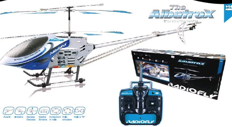 Elicottero Radiofly : Radiofly albatros elicottero rc cm con funzioni ebay