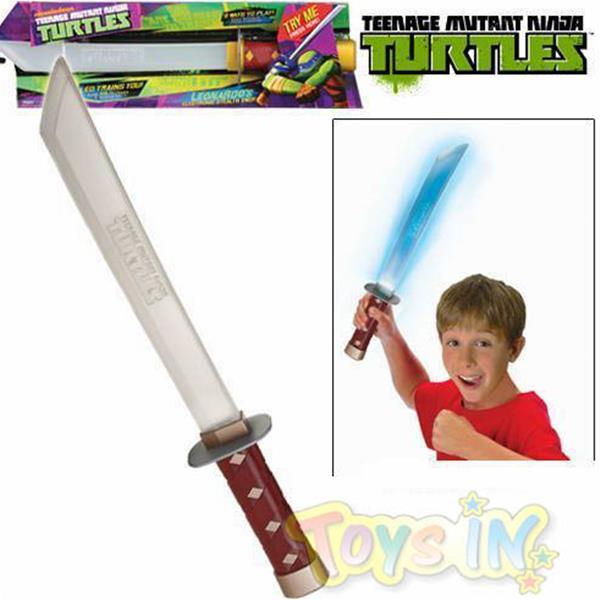 Tartarughe ninja spada con luci e suoni turtles ebay for Luci per tartarughe