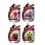 AVENGERS ACTION FIGURES (1O CM) CAPTAIN AMERICA, THOR, IRON MAN,