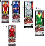AVENGERS ACTION FIGURES (30 CM) IRON MAN - CAPTAIN AMERICA - MARVEL'S FALCON ULTRON