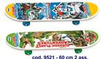 SKATEBOARD LEGNO 60X15 CM ASSORTITO