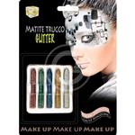 SET MATITE MAKE UP GLITTER COL ASS