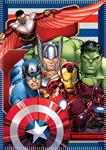 AVENGERS COPERTA IN PILE AV61001_1 PLAID 100X150