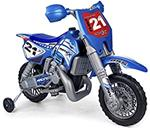 MOTO SUPERCROSS BIKE 6V CON CASCO