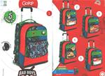 GOPOP 18 ZAINO TROLLEY SPIN BAD BOYS