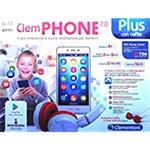 CLEMPHONE 7.0 CON CUFFIE CELLULARE