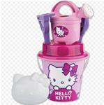 SECCHIELLO PALETTA E ACCESSORI MARE HELLO KITTY MAKE UP