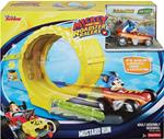 FISHER PRICE PISTA MICKEY AND THE ROADSTER RACERS MUSTARD RUN