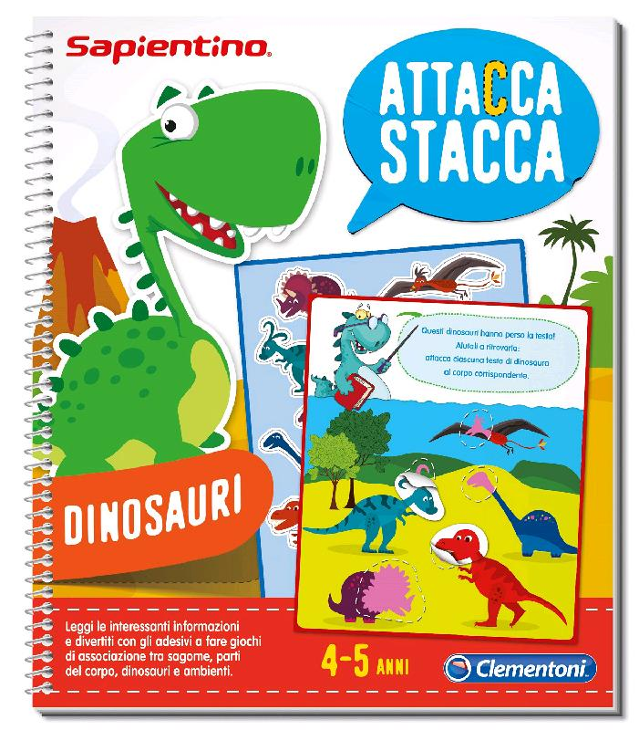 Prodotto 13299 Quaderni Di Sapientino Dinosauri Clementoni