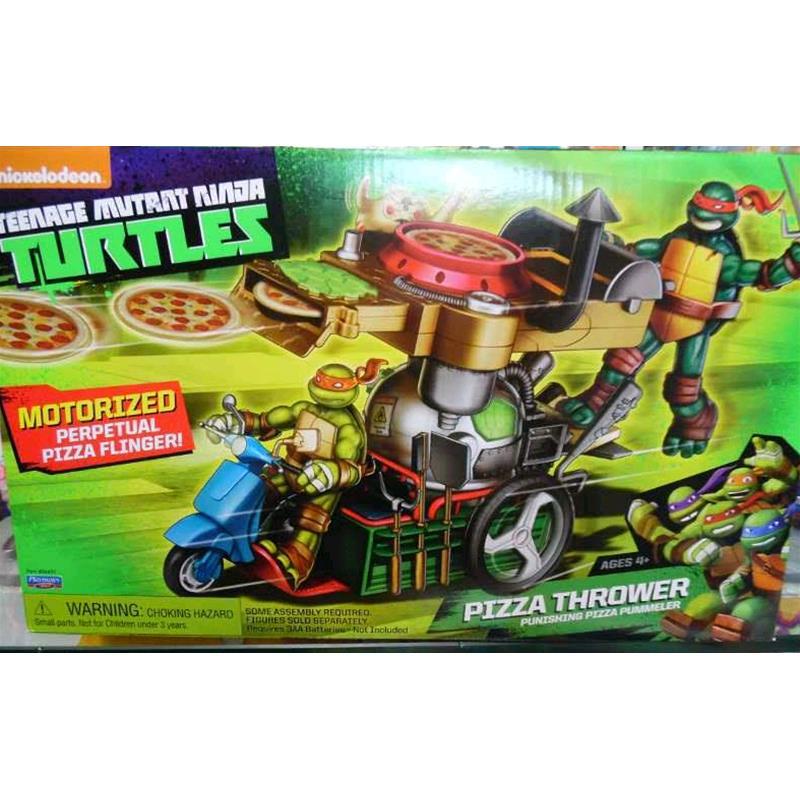 Prodotto gpz94431 tartarughe ninja pizza thrower for Prezzo tartarughe